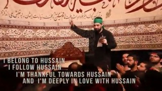 I belong to Hussain