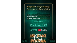 Webinar Shiaphobia and today's challenging